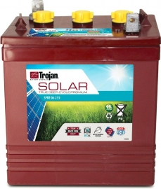 Trojan 6v SPRE 06 255 Deep Cycle Solar Flooded
