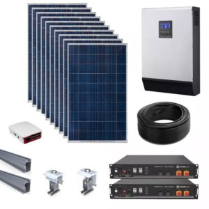 Lithium Battery Off Grid Kits