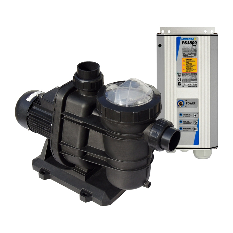 Lorentz Solar Pool Pumps with MPPT